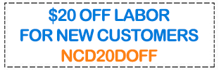 Coupon: $20 off for new customers.