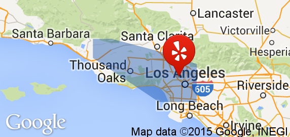Our service area covers the Los Angeles and Ventura counties.